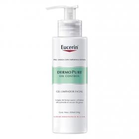 Gel limpiador facial DermoPure Eucerin 400 ml.