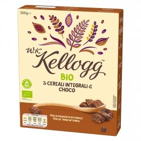 Cereales integrales con chocolate ecológicos W.K Kellogg 300 g.