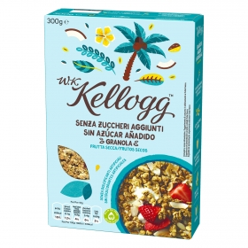Cereales con frutos secos W.K Kellogg 300 g.