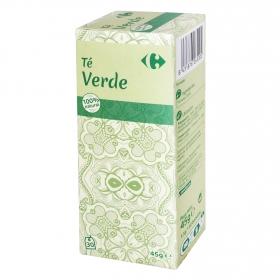 Té verde en bolsitas Carrefour 30 ud.