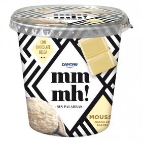 Mousse de chocolate blanco Danone - mmmh! 200 g.