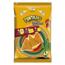 Puntazos nachos con sabor queso