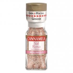 Molinillo sal rosa del himalaya Cannamela 60 g.