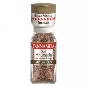 Molinillo sal ahumada con madera de haja Cannamela 64 g.