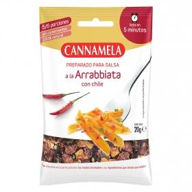 Preparado para salsa a la Arrabbiata con chile Cannamela 20 g.