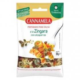 Preparado para salsa a la Zingara con alcaparras