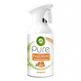 Ambientador Pure Energizante naranja y pomelo Air Wick 250 ml.