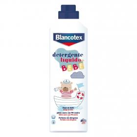 Detergente líquido especial ropa bebé Blancotex 25 lavados.