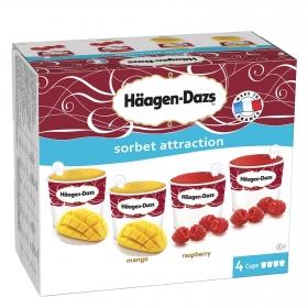 Vasitos de helado sorbet attaction