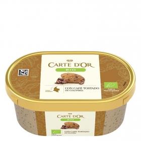 Helado con café tostado ecológico Carte D'or 450 ml.