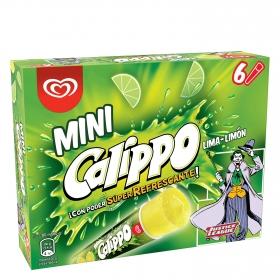 Mini helado de lima-limón Calippo 6 ud.