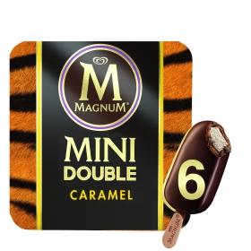 Helado mini doble caramelo
