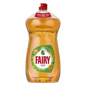 Lavavajillas a mano ultra aroma naranja Fairy 1,5 l.