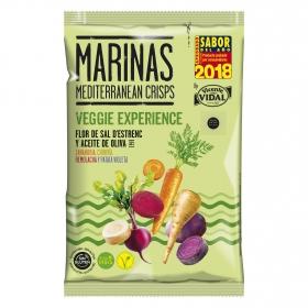 Aperitivo de verduras con sal y aceite de oliva Vicente Vidal sin gluten 100 g.
