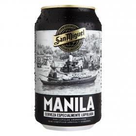 Cerveza San Miguel Manila lata 33 cl.