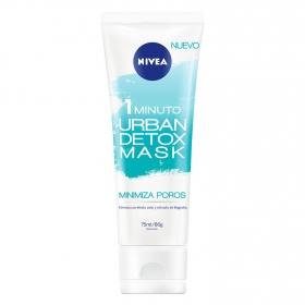 Mascarilla minimiza poros Urban Detox Mask Nivea 75 ml.