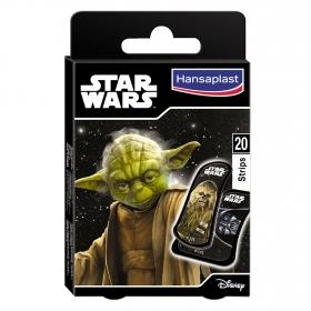 Tiras adhesivas Star Wars Hansaplast 20 ud.