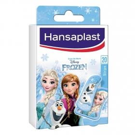 Tiras adhesivas Frozen Hansaplast 20 ud.