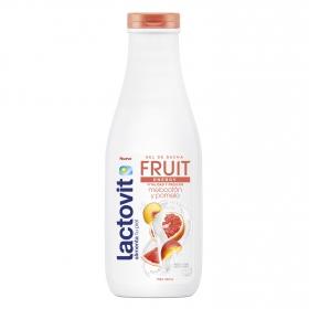 Gel de ducha energy Fruit melocotón y pomelo para piel seca