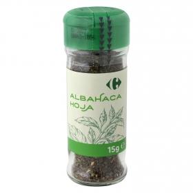 Albahaca  en hoja Carrefour 15 g.