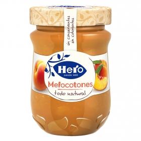 Confitura de melocotón Hero 345 g.
