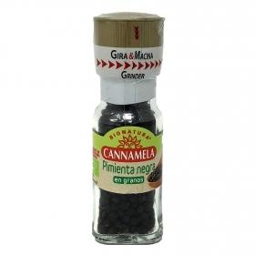 Pimienta negra en granos ecológica Cannamela 28 g.