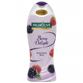 Gel de ducha Gourmet cremoso Berry Delight Palmolive 500 ml.