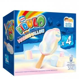 Helado marshmallow