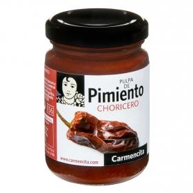 Pulpa de pimiento choricero Carmencita 140 g.