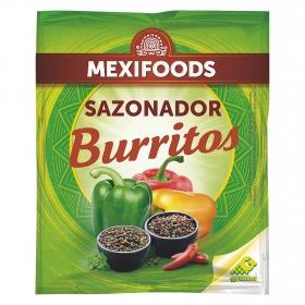 Sazonador para burritos Mexifoods 30 g.