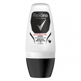 Desodorante roll-on Men Motion Sense Active protección+ anti-transpirant Rexona 50 ml.