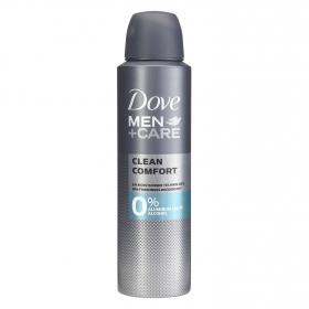 Desodorante Men + care Clean Comfort 0% aluminum salts alcohol