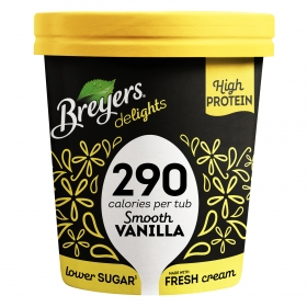 Helado de vainilla Breyers 500 ml.