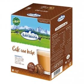 Café con leche en cápsulas compatible con Dolce Gusto