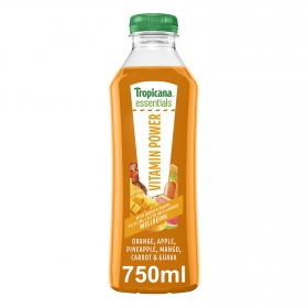 Zumo Tropicana Vitamine Power 75 cl.