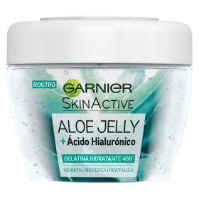 Gelatina hidratante aloe jelly Garnier-Skin Active 150 ml.