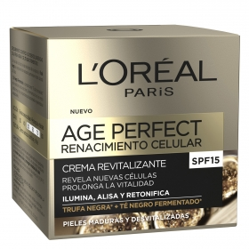Crema revitalizante Age Perfect Renacimiento celular L'Oréal 50 ml.