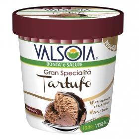 Helado de tartufo Valsoia sin gluten sin lactosa 210 g.