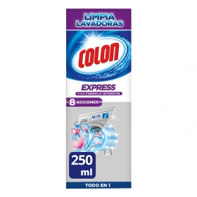 Limpia lavadoras Express Colon 250 ml.