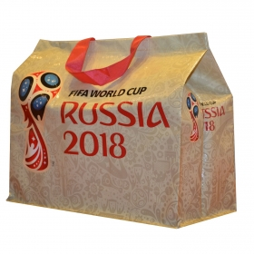 Bolsa Rafia Oro Fifa 2018
