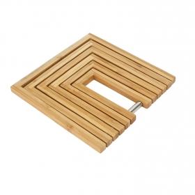 Salvame Extensible AMBIANCE NATURE Bambu - Inox