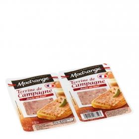 Paté de campaña Madrange pack de 2 unidades de 50 g.