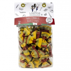 Farfalle vegetal Los Lositos 250 g.