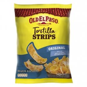 Tiras de maíz Old El Paso sin gluten 185 g.