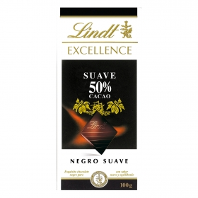Chocolate negro 50% Lindt Excellence 100 g.