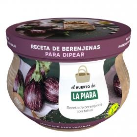 Receta de berenjenas con tahini para dipear La Piara 180 g.