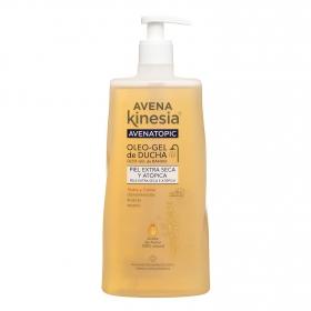 Gel de ducha Avenatopic para piel extra seca y atópica Kinesia 550 ml.