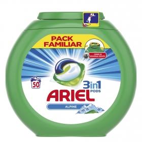 Detergente 3 en 1 en cápsulas Alpine