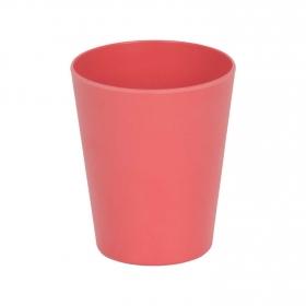 Vaso Bambú 8,5 cm Rojo