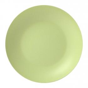 Plato Hondo Bambú 20,5 cm Verde